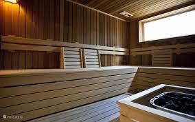 sauna op het park