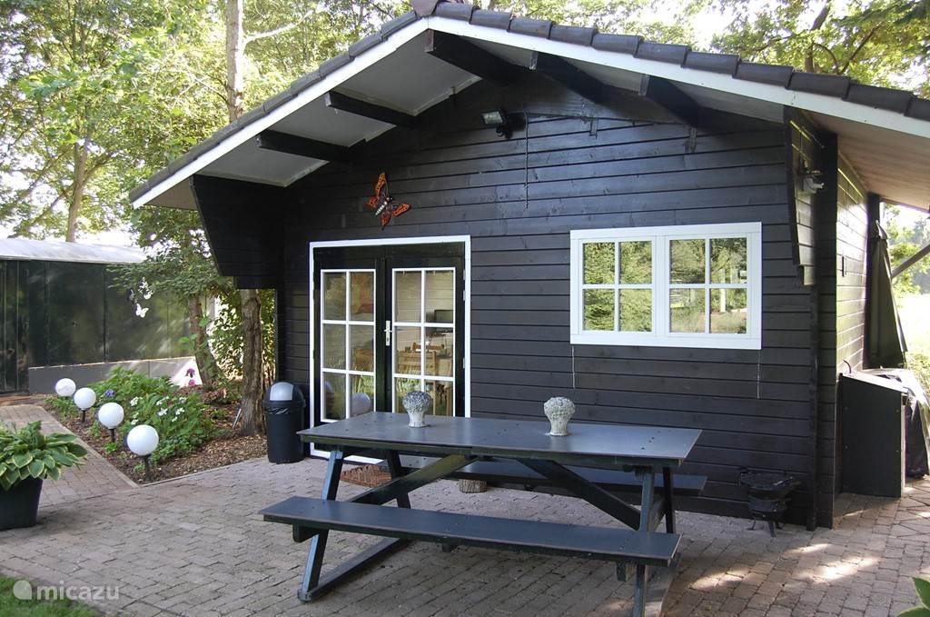 Vakantiehuis Nederland, Drenthe, Coevorden - blokhut / lodge Vrijzicht