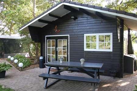 Vakantiehuis Nederland, Drenthe, Coevorden blokhut / lodge Vrijzicht