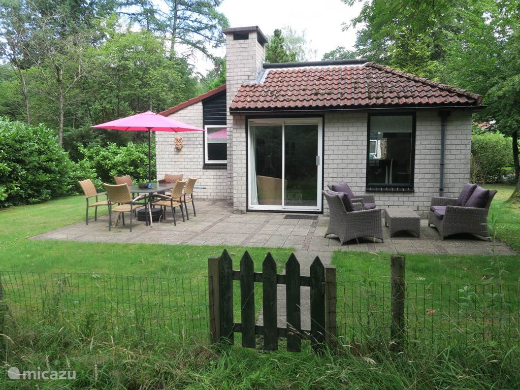 Ferienwohnung Niederlande, Gelderland, Ermelo bungalow Blick auf den Wald
