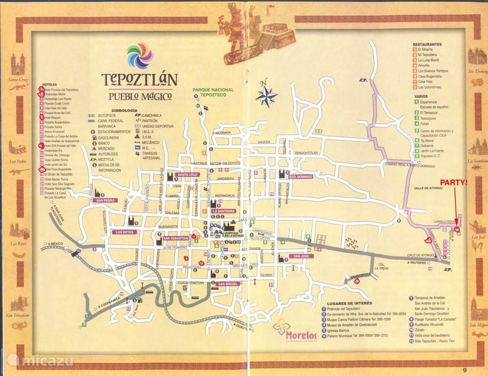 Waar eten en drinken in Tepoztlan