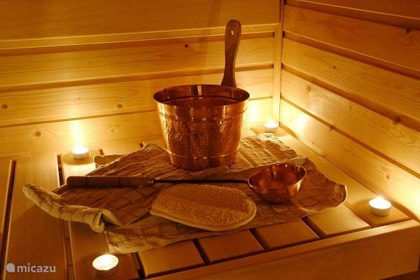 Use sauna (fee) available