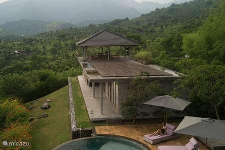 Vakantiehuis Indonesië, Bali, Pemuteran - villa Villa Bali Mynah Sumberkima Hill
