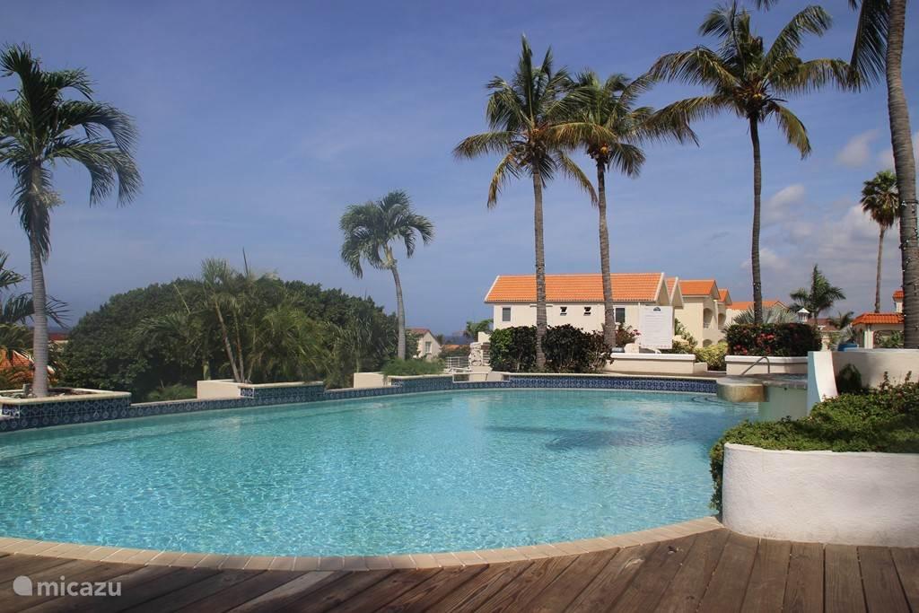 Zwembad van het resort