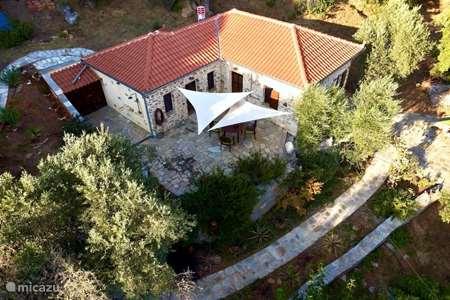 Vakantiehuis Griekenland, Pilion, Platanias vakantiehuis Kalivi Elena