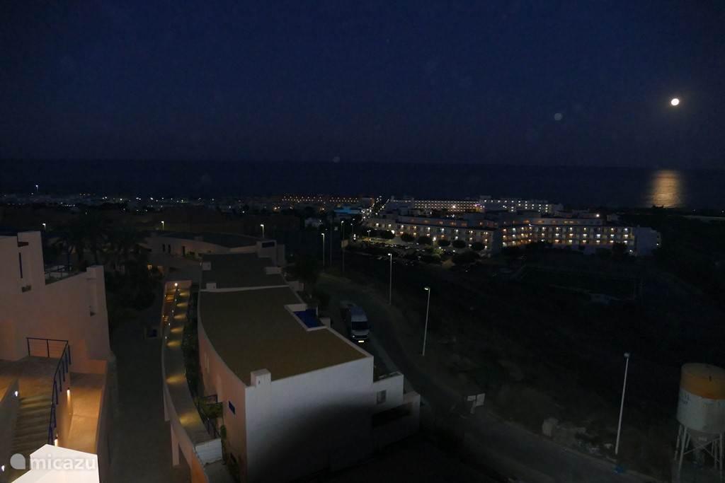 avond uitzicht
