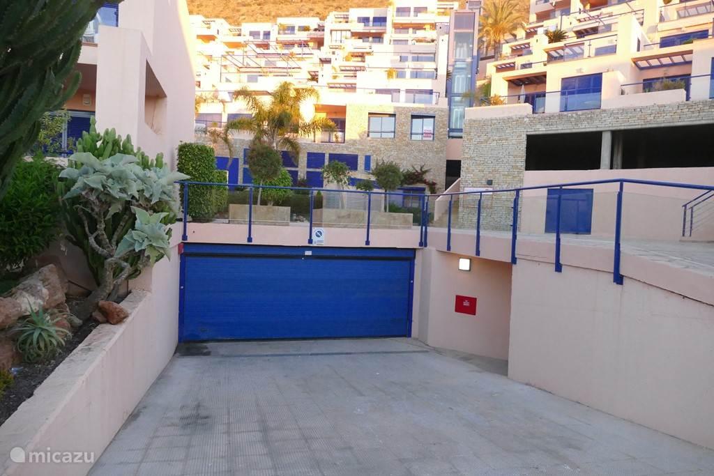ingang garage