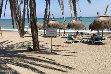 Vakantiehuis Spanje, Costa del Sol, Fuengirola appartement Casa del Sol ***** Direct aan zee