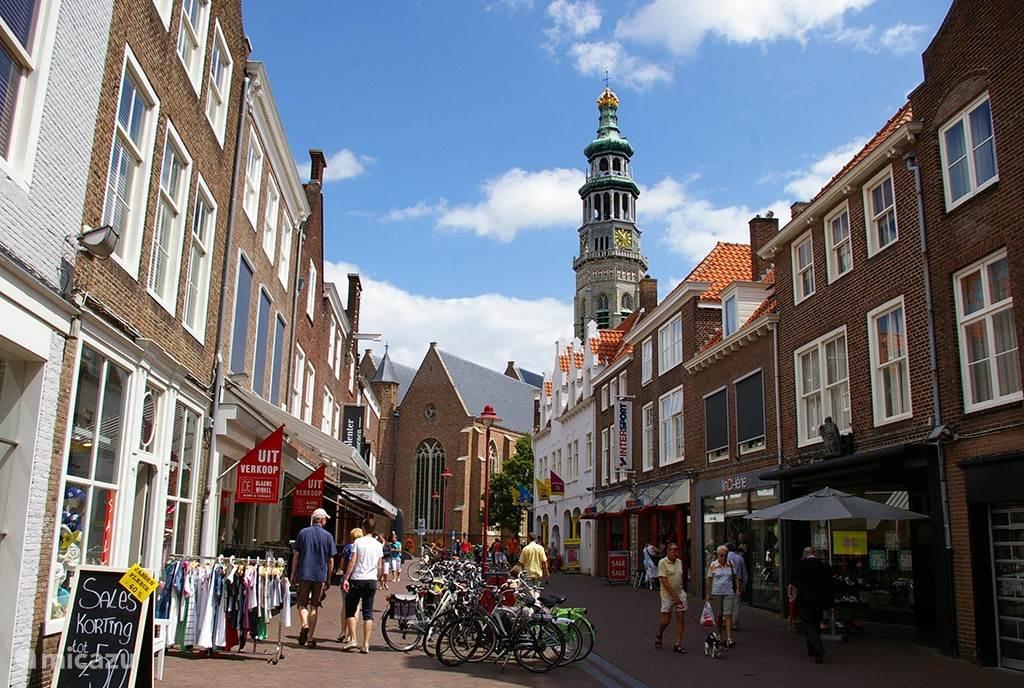 Gezellig winkelen in de oude binnenstad op 5 minuten loopafstand