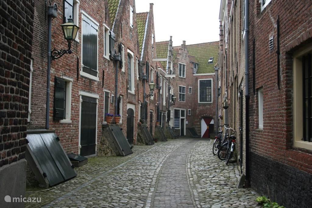 Oude binnenstad met monumentale panden (in lijst 5 van Nederland)