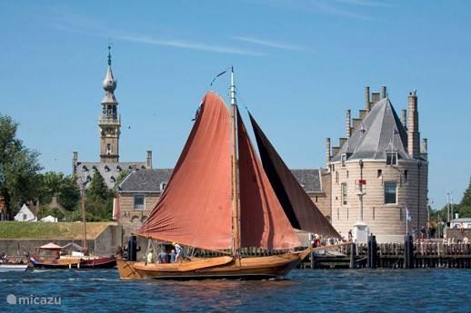 Het middeleeuwse stadje Veere op 10 minuten rijden