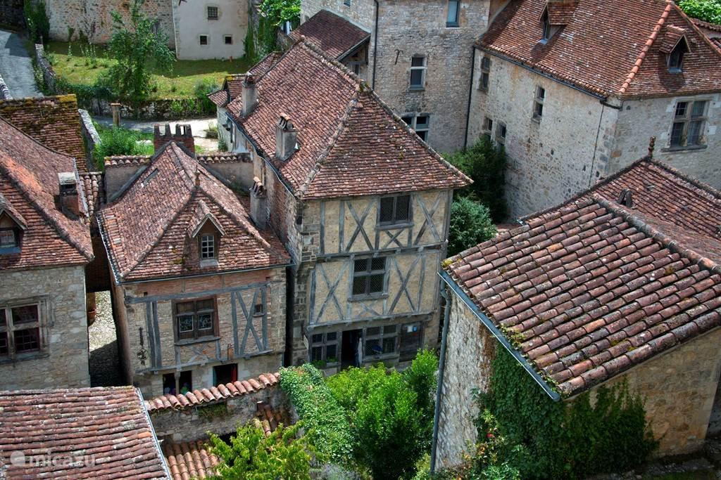 De omgeving van Le Prieuré