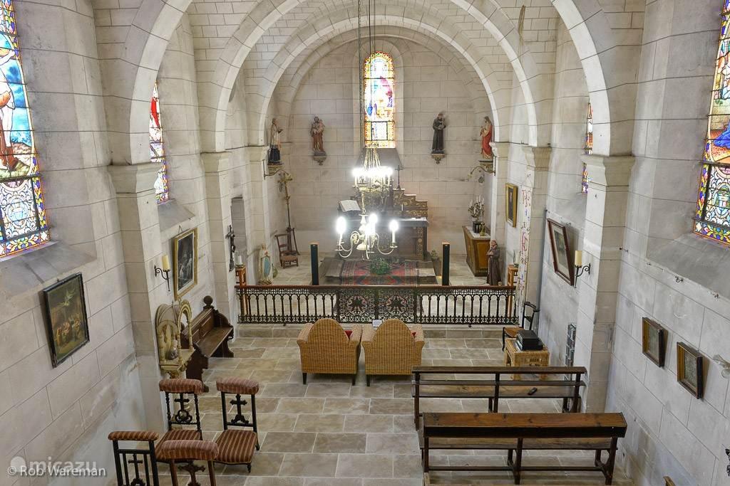 De kapel van Le Prieuré