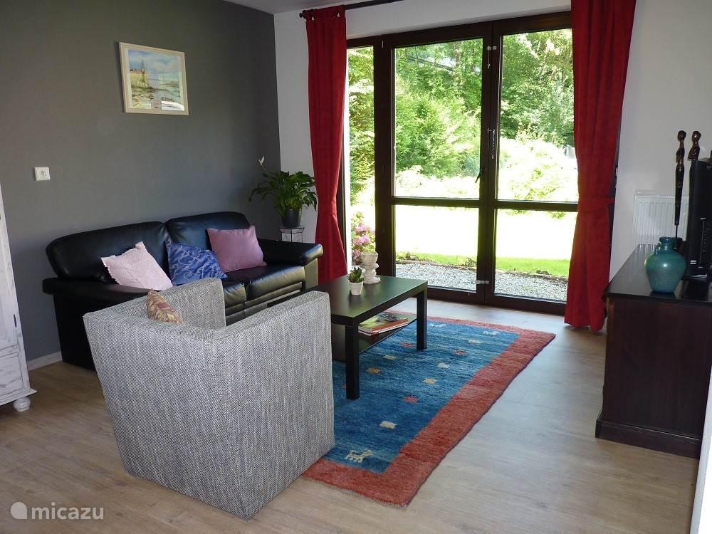 Gezellige woonkamer met Wifi en Sat TV.