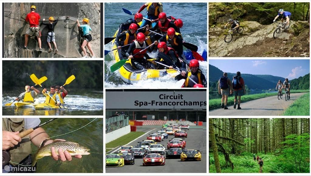 Tal van activiteiten en culturele uitstapjes te doen in een straal van 40 km.
