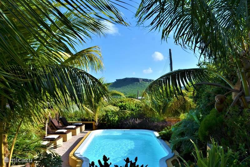 Vakantiehuis Curaçao, Banda Abou (west), Sint Willibrordus Appartement Iguana View Ap nr. 3 Jan Kok Lodges