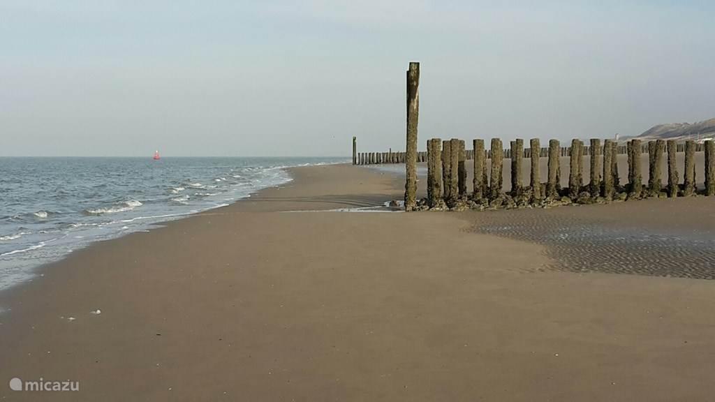 Het strand is 3 kilometer bij ons vandaan.