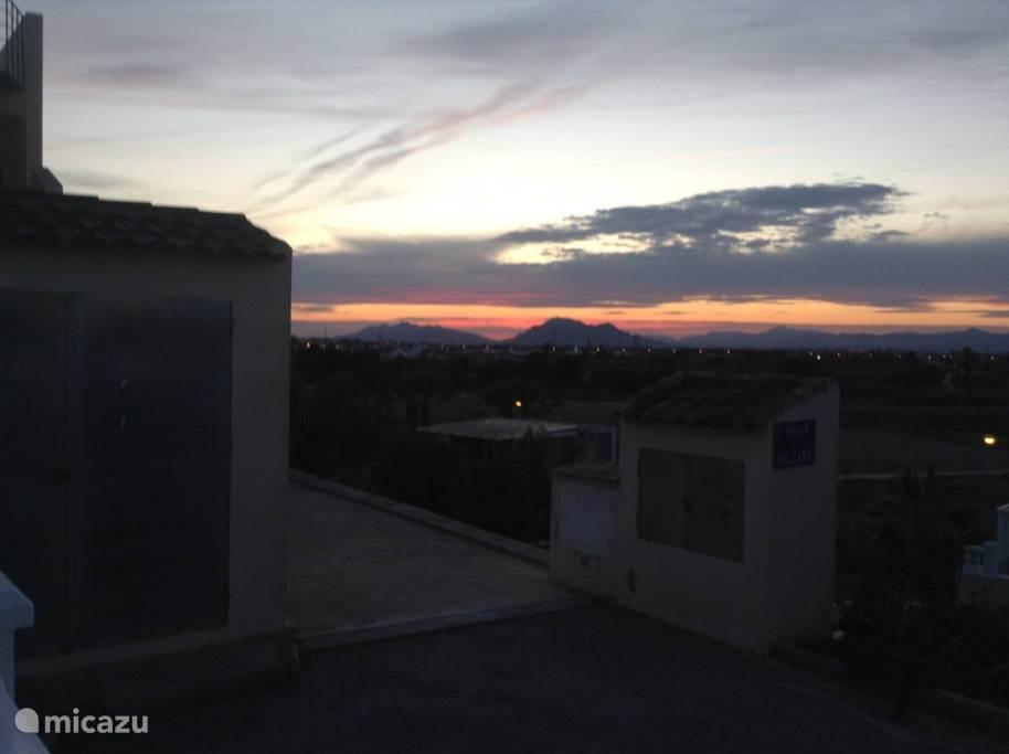 Uitzicht vanaf dakterras