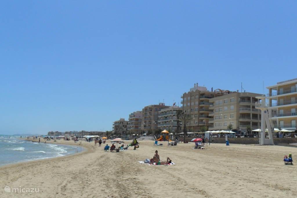Strand van Guardamar del Segura