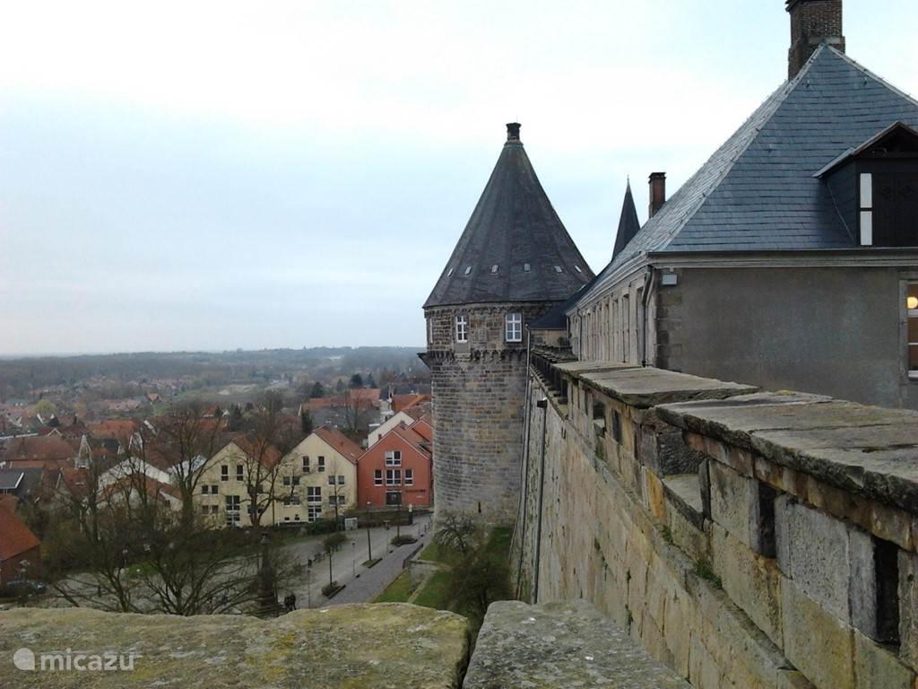 Kasteel Bentheim in Bad Bentheim.