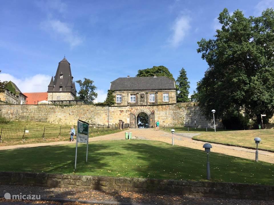 Kasteel Bentheim in Bad Bentheim