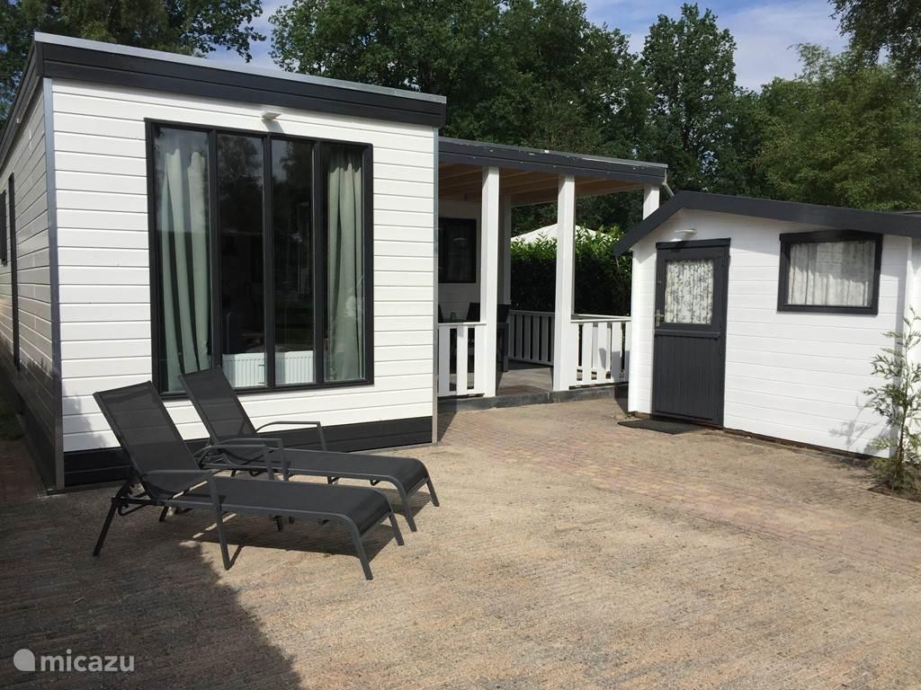 Vakantiehuis Nederland, Utrecht – chalet DayDream Wellness 4p luxe Chalet