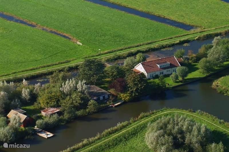 Vakantiehuis Nederland, Utrecht, Kockengen Blokhut / Lodge Vakantiehuisje op een eiland