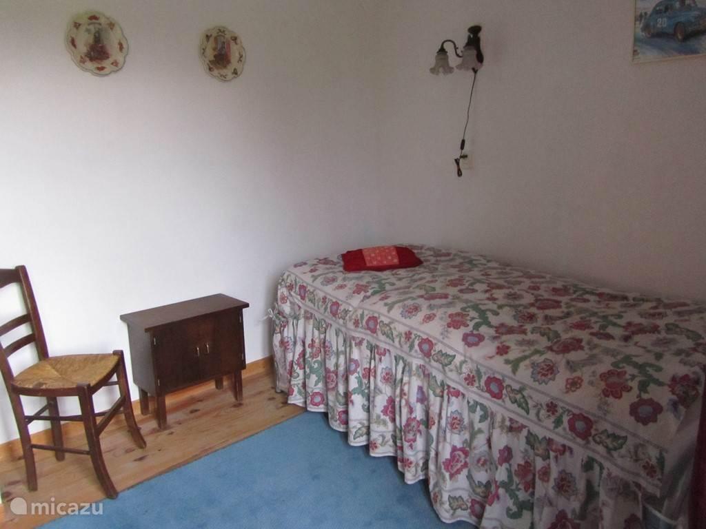 Slaapkamer met onderschuifbed op de begane grond