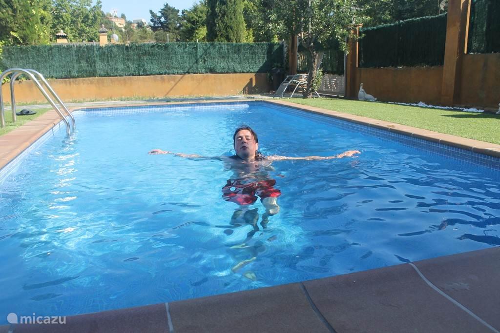 Prive zwembad.