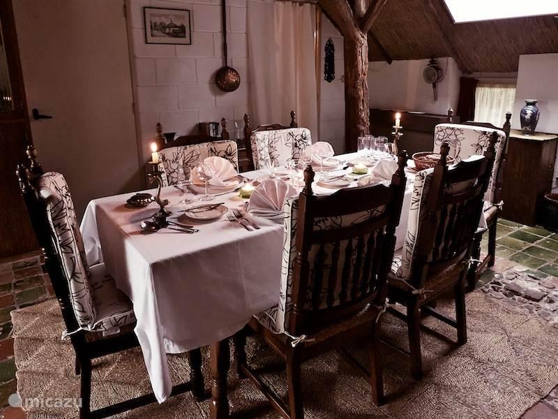 De deel / eet kamer