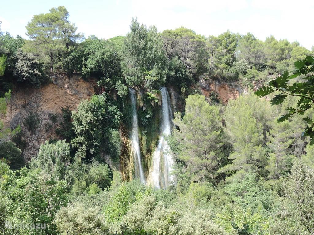 Watervallen van Sillans-la-Cascade