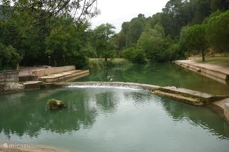 Natuurlijke zwemplaats Salernes