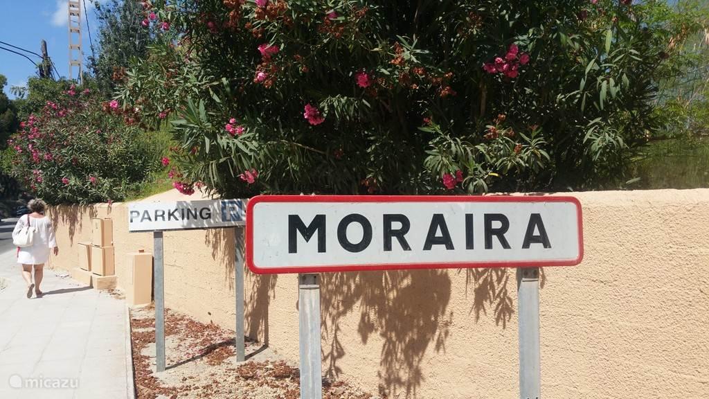 Moraire heeft goede wandelroutes. overdag en in de avonduren is dit een aanrader.