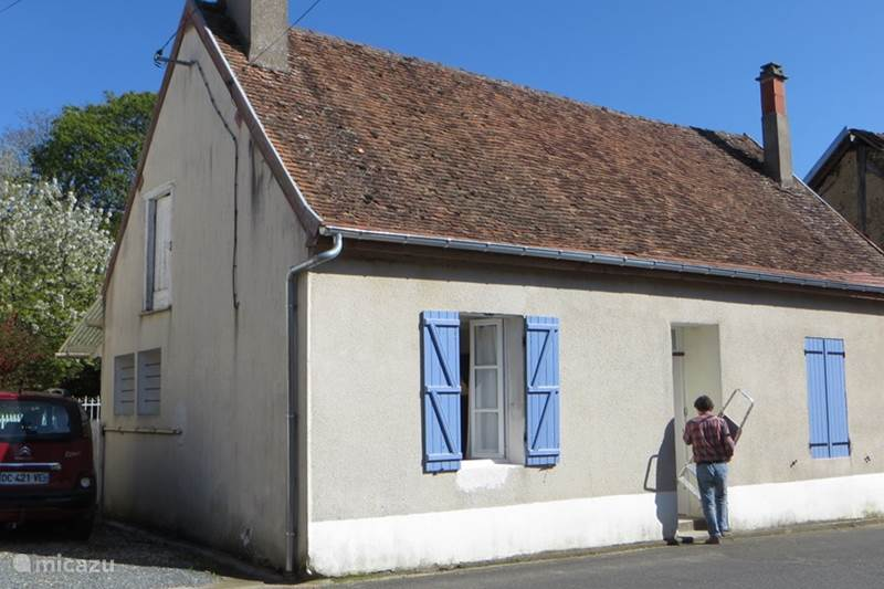 Vacation rental France, Loire, Santranges Holiday house Le Petit Bonheur