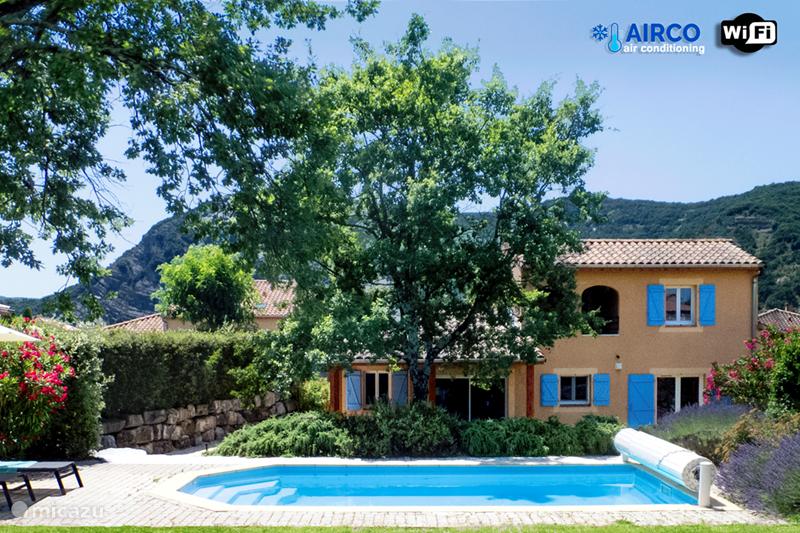 Vacation rental France, Ardèche, Vallon-Pont-d'Arc Villa Villa Beau Rêve with private pool