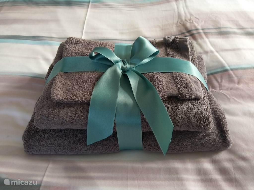 Handdoek pakket.