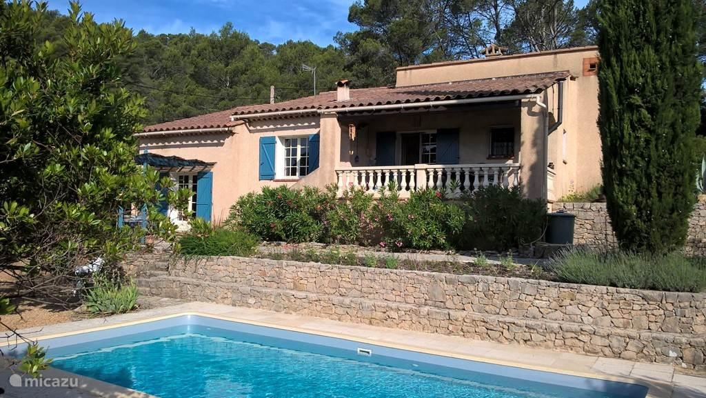 Vakantiehuis Frankrijk, Provence, Entrecasteaux - villa Le Début