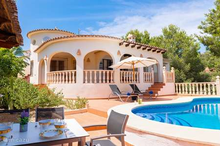 Vakantiehuis Spanje, Costa Blanca, Moraira villa Casa Juluja Benissa, Moraira