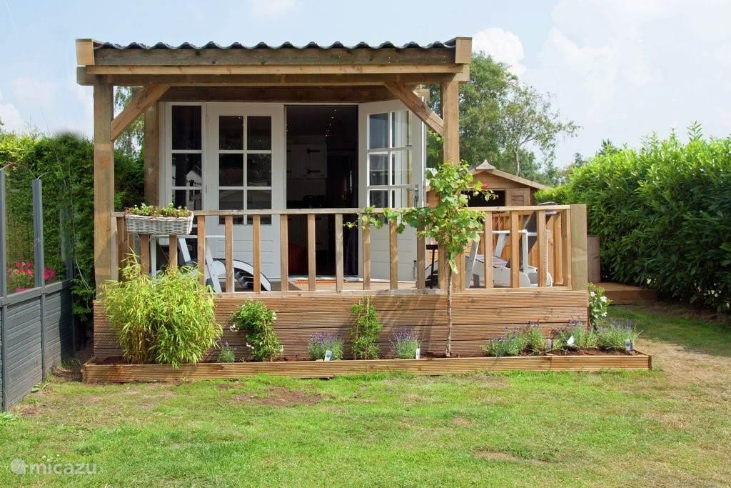 chalet met veranda