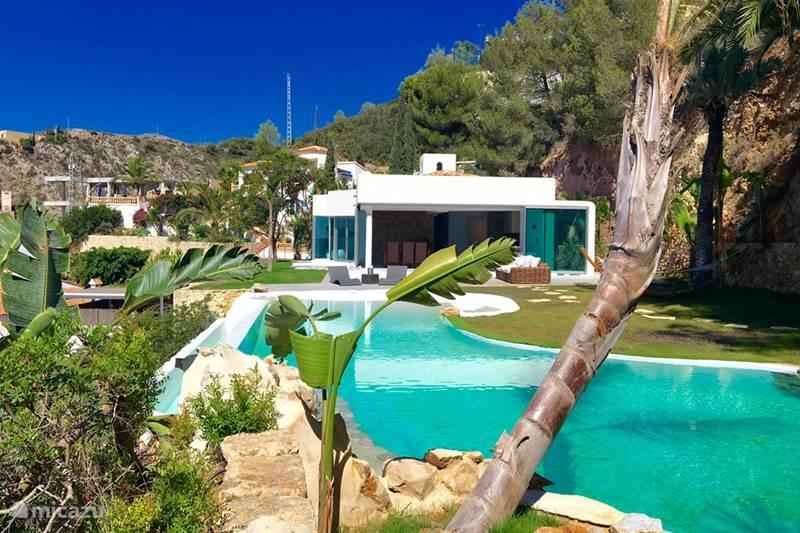 villa luxus pur in javea costa blanca spanien mieten. Black Bedroom Furniture Sets. Home Design Ideas