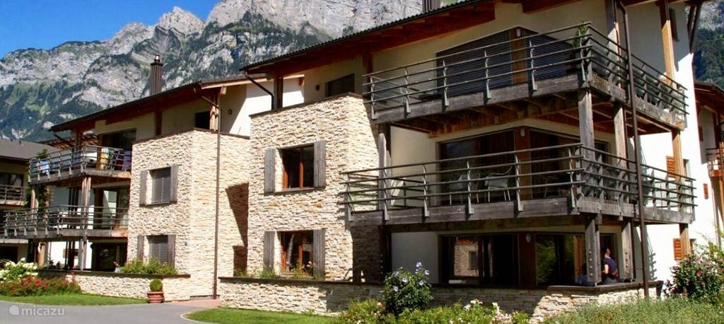 Vakantiehuis Zwitserland, Oost Zwitserland – appartement Ruim 4p appartement aan de Walensee