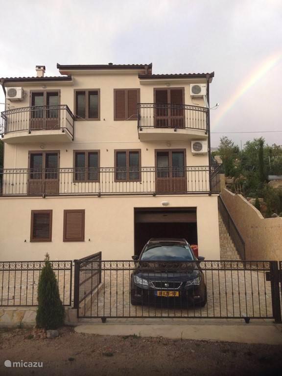 Vakantiehuis Kroatië, Kvarner, Prizna Appartement Villa familie