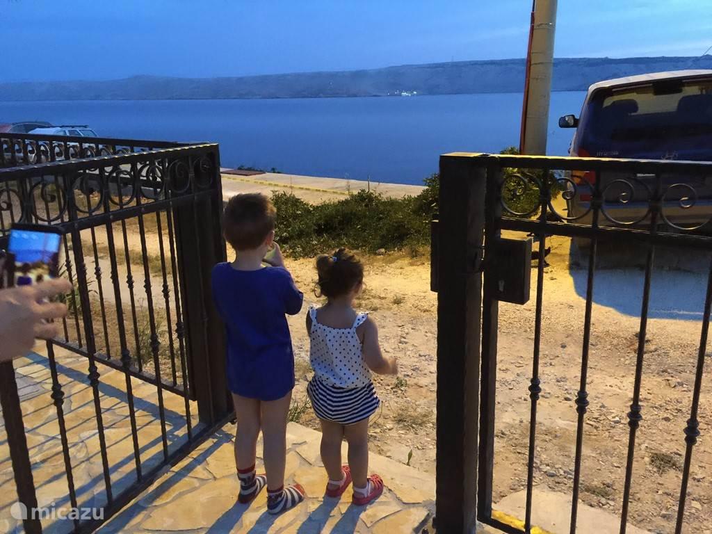 Vacation rental Croatia, Kvarner Gulf, Prizna Apartment Villa family app 1