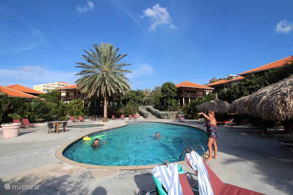Vacation rental Curaçao, Curacao-Middle, Blue Bay Holiday house Blue Bay Beach Villa Blenchi Berde