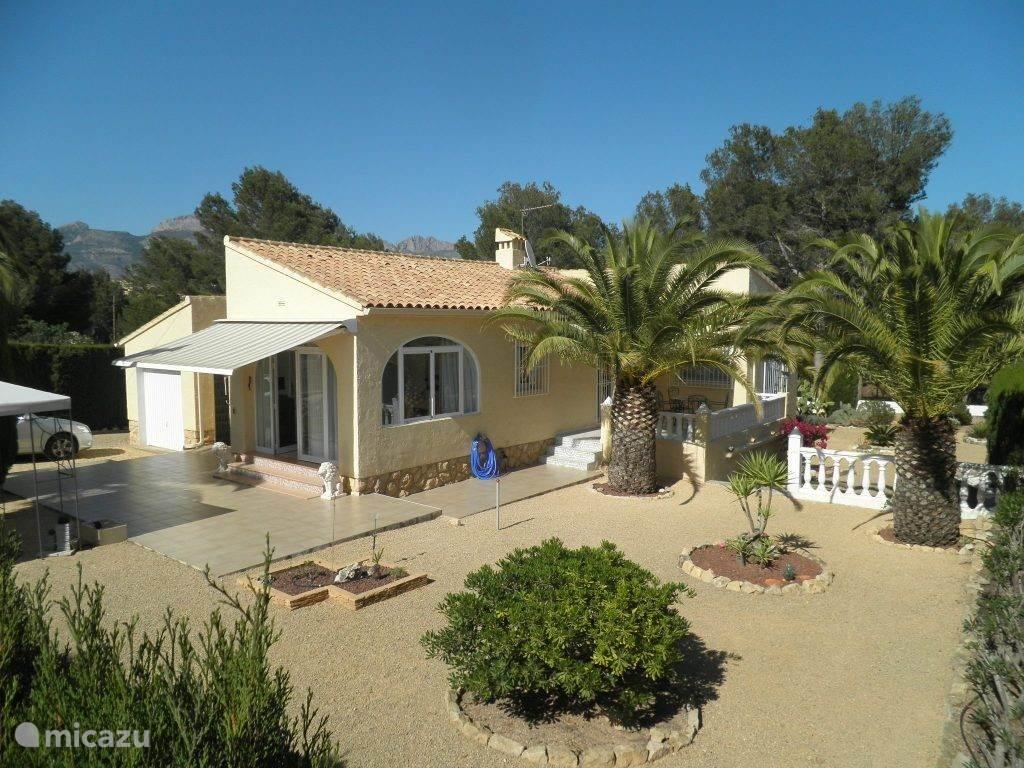 Vakantiehuis Spanje, Costa Blanca, La Nucia villa Casa Carla