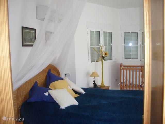 De grote slaapkamer