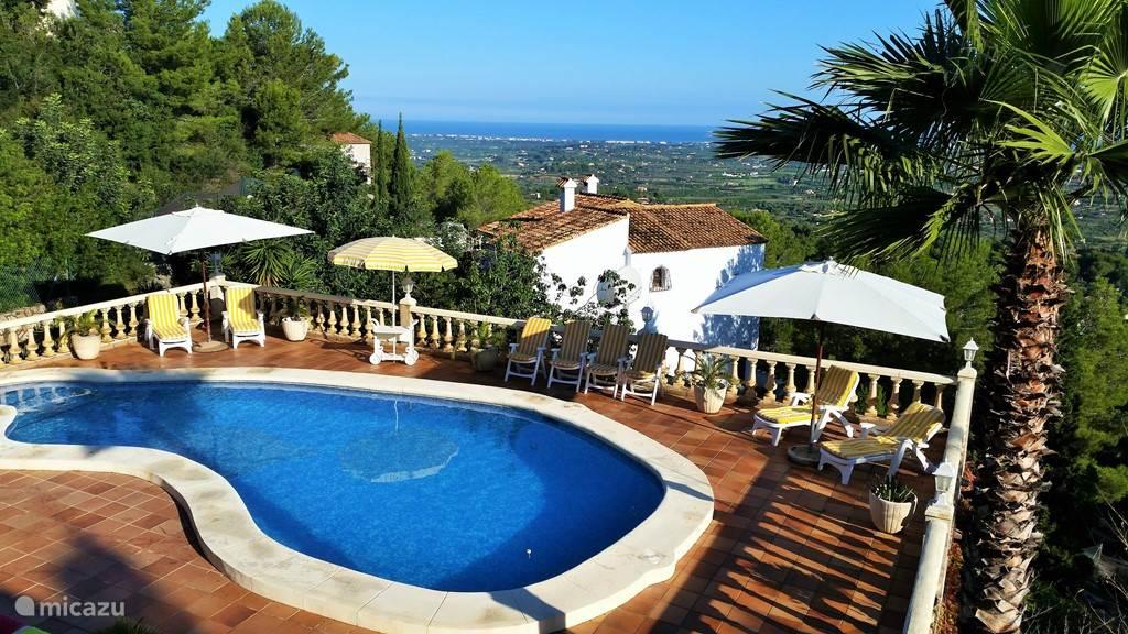 Vakantiehuis Spanje, Costa Blanca, Pedreguer Villa Casa Coby 6 pers villa La Sella
