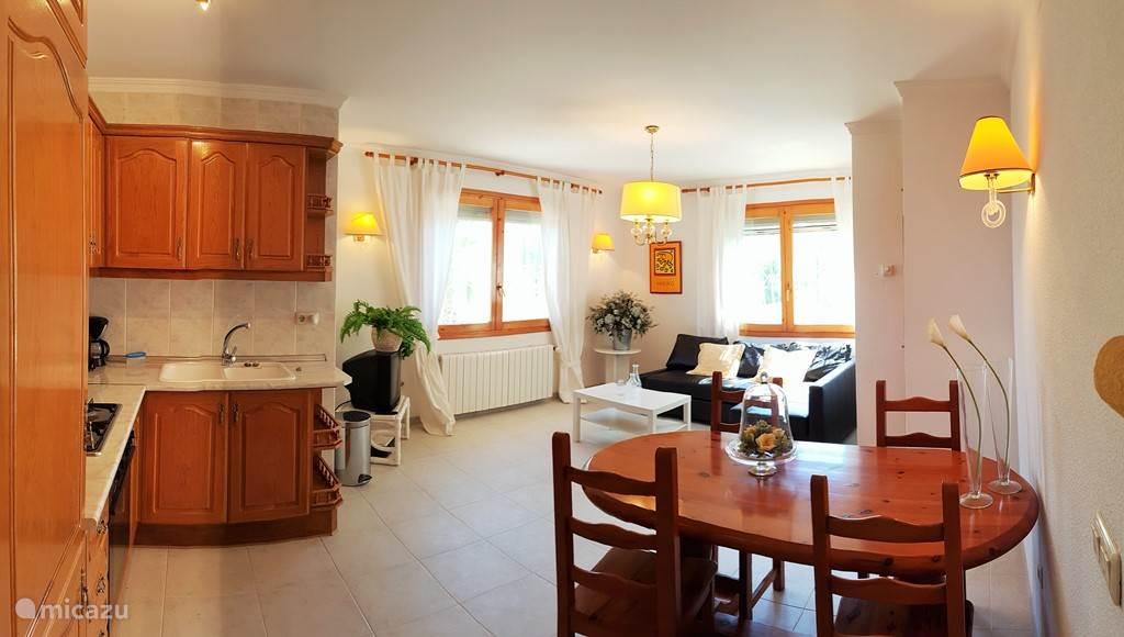 appartement met eigen keuken