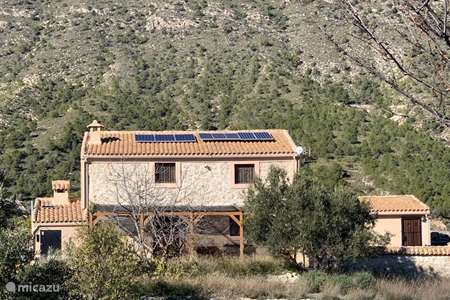 Vacation rental Spain, Murcia, Campo de Ricote holiday house Casa Buena Vista