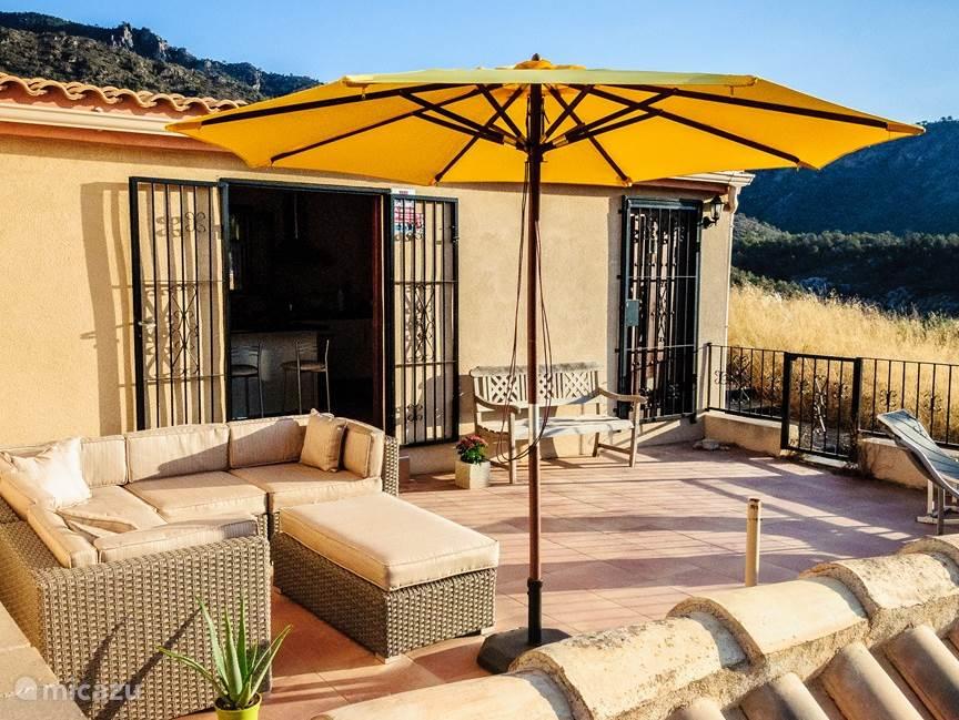Vakantiehuis Spanje, Murcia, Campo de Ricote Vakantiehuis Casa Buena Vista